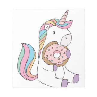 Hungry Unicorns Notepad