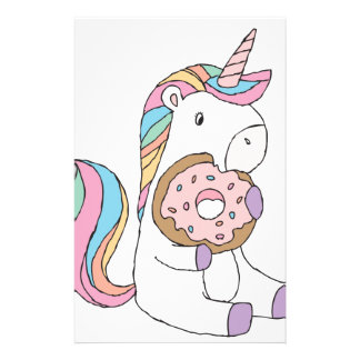 Hungry Unicorns Stationery