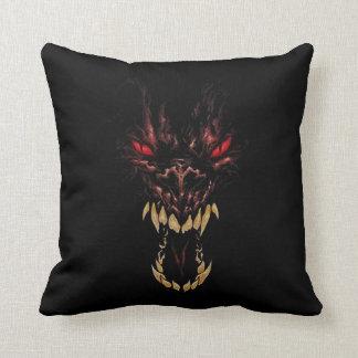 Hungry Werewolf Throw Pillow
