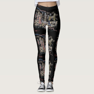 Hungry Zombies Leggings