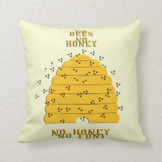 Hunny Throw Pillow
