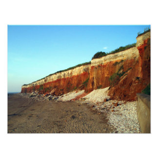 Hunstanton Cliff Photo Print