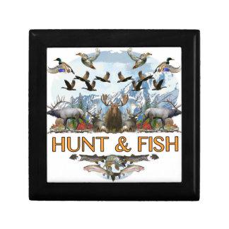 Hunt and fish gift box