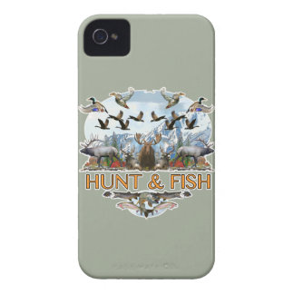Hunt and fish iPhone 4 Case-Mate case