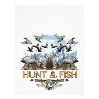 Hunt and fish letterhead