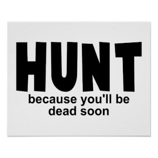 Hunt Before Death Poster