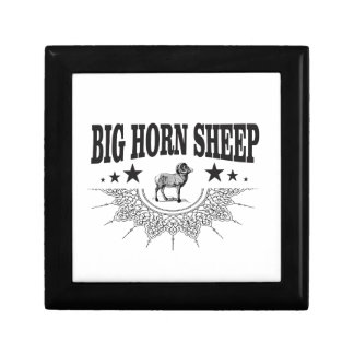 hunt big horned sheep gift box