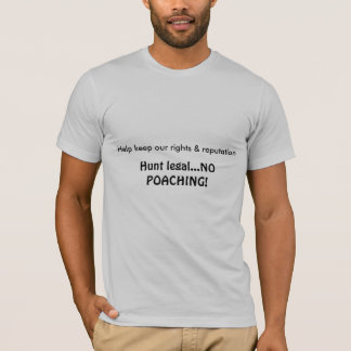 Hunt Legal T-Shirt