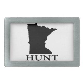 Hunt Minnesota Belt Buckle