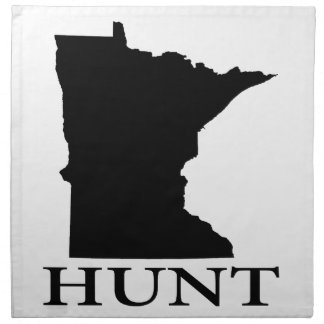 Hunt Minnesota Napkin