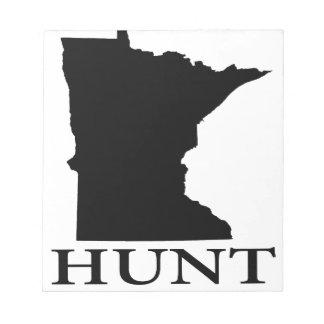 Hunt Minnesota Notepad