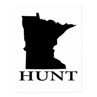 Hunt Minnesota Postcard