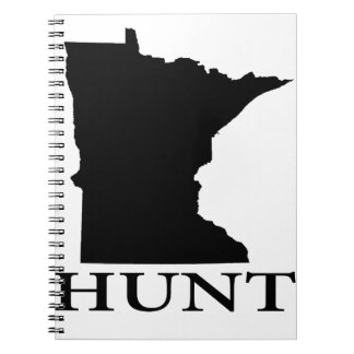 Hunt Minnesota Spiral Notebook