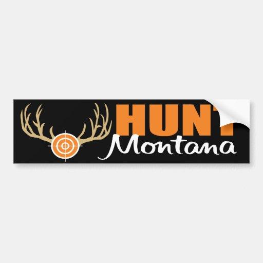 Hunt Montana Bumper Sticker
