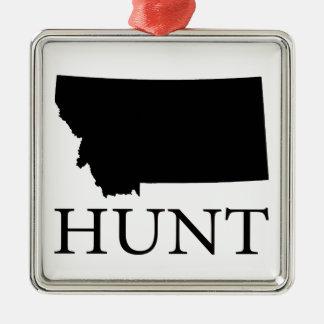 Hunt Montana Metal Ornament