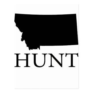 Hunt Montana Postcard