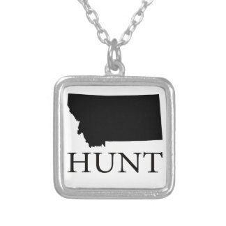 Hunt Montana Silver Plated Necklace