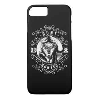 Hunt or Be Hunted Glossy Phone Case