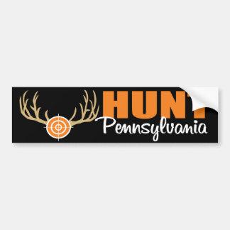 Hunt Pennsylvania Bumper Sticker
