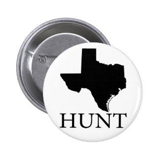Hunt Texas 2 Inch Round Button