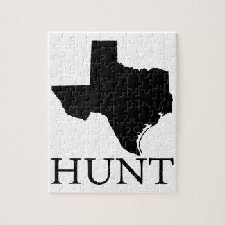 Hunt Texas Jigsaw Puzzle