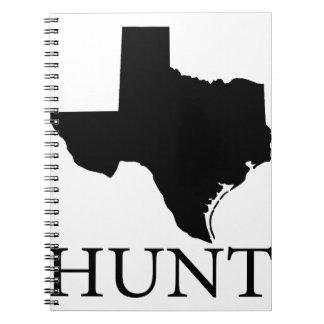 Hunt Texas Spiral Notebook