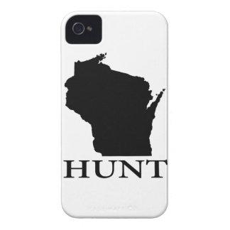 Hunt Wisconsin iPhone 4 Cases