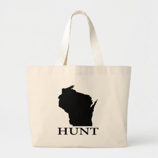 Hunt Wisconsin Large Tote Bag