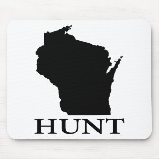 Hunt Wisconsin Mouse Pad