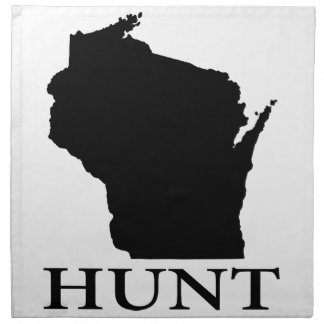 Hunt Wisconsin Napkin