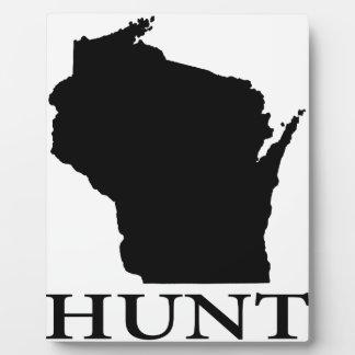 Hunt Wisconsin Plaque