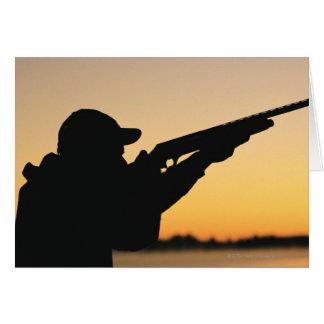 Hunter and Gun Card
