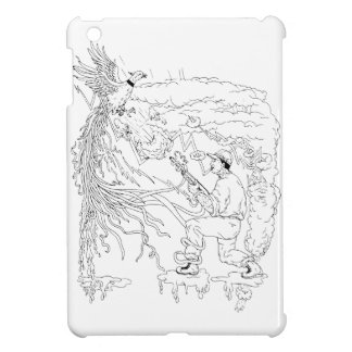 Hunter and Pheasant Ukiyo-e Case For The iPad Mini