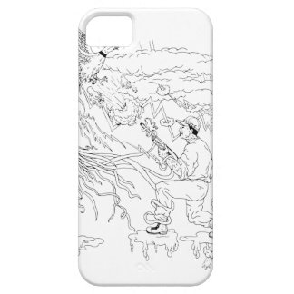 Hunter and Pheasant Ukiyo-e Case For The iPhone 5