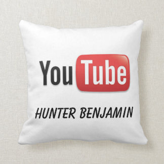 Hunter Benjamin YouTube Pillow