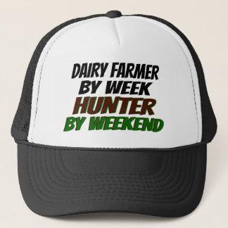Hunter Dairy Farmer Trucker Hat