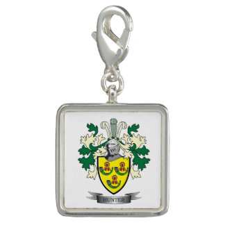 Hunter Family Crest Coat of Arms Charms