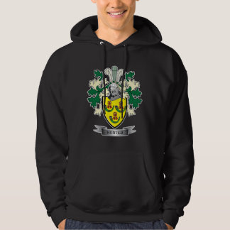 Hunter Family Crest Coat of Arms Hoodie