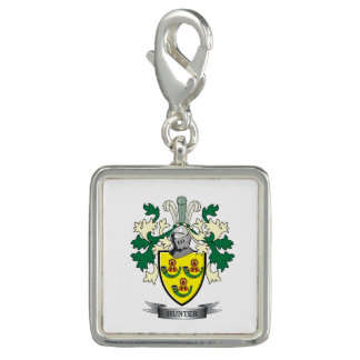 Hunter Family Crest Coat of Arms Photo Charm