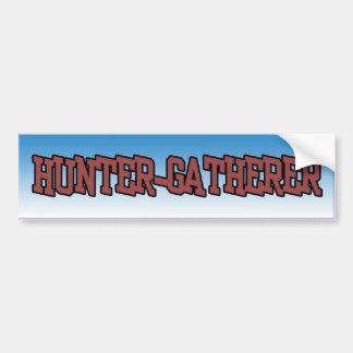 Hunter Gatherer bumper sticker
