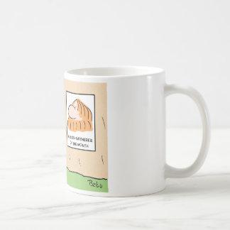 hunter gatherer month caveman coffee mugs
