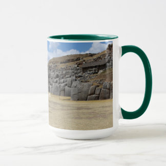 Hunter Green 444 ml Ringer Combo Mug