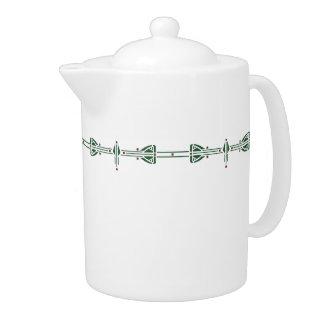 Hunter Green 44oz. Teapot