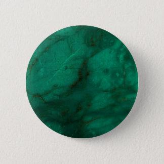 Hunter Green Marble 2 Inch Round Button
