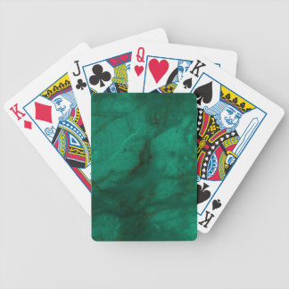 Hunter Green Marble Bicycle Playing Cards