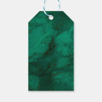 Hunter Green Marble Gift Tags