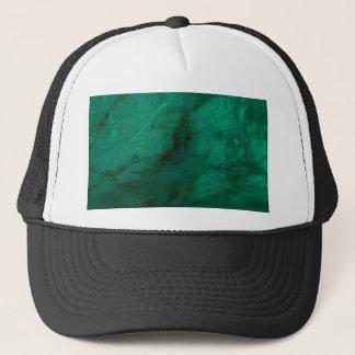 Hunter Green Marble Trucker Hat