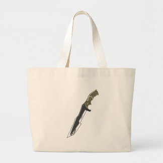 Hunter Knife Large Tote Bag