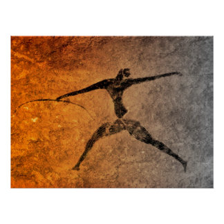 Hunter of Lascaux Poster