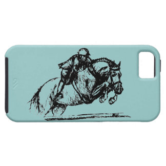 Hunter Over Fences iPhone 5 iPhone 5 Cover